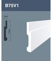 Напольный плинтус B75V1