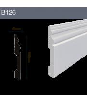 Напольный плинтус B126