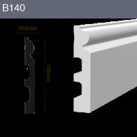 Напольный плинтус B140