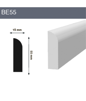 Напольный плинтус BE55