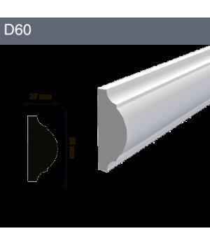 Декоративный молдинг D60