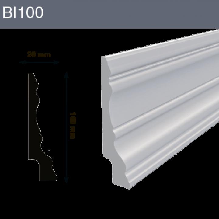Напольный плинтус BL100