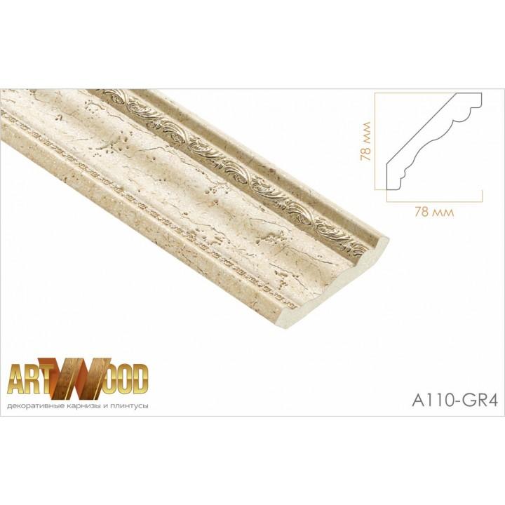 Потолочный плинтус A110-GR4