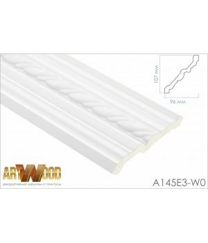 Потолочный плинтус A145E3-W0