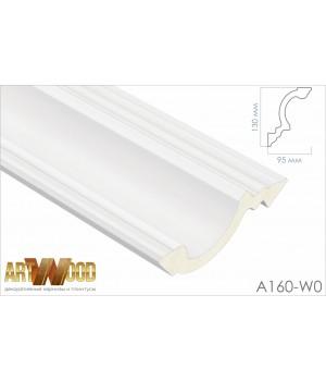 Потолочный плинтус A160-W0