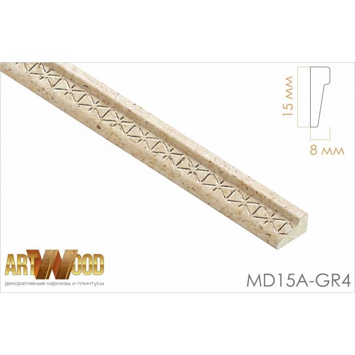 Декоративный молдинг MD15А-GR4