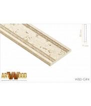 Декоративный молдинг W80-GR4