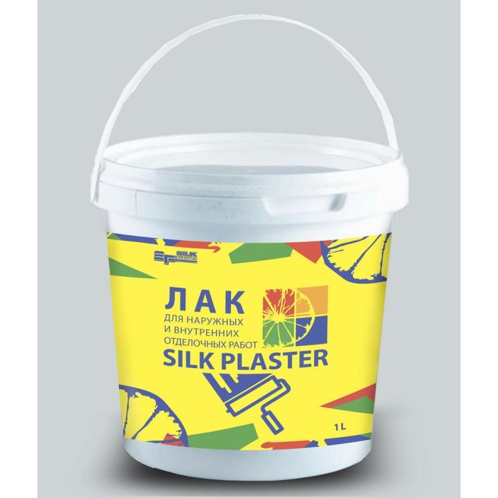 Лак SILK PLASTER 0,8кг (1л)